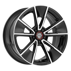 Centerline Wheels 634MB MM5 - Mirror Machined with gloss Black Accents