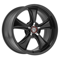 Centerline Wheels 635B Modern Muscle Series - Satin Black Rim - 22x10.5