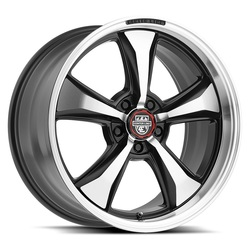 Centerline Wheels 635MB Modern Muscle Series - Machined Black