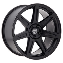 Centerline Wheels 670B SM1 REV 7 - Satin Black Rim - 19x10.5