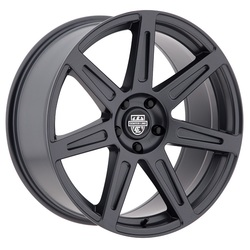 Centerline Wheels 670GM SM1 REV 7 - Satin Gunmetal Rim - 19x10.5
