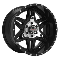 Centerline Wheels 831MB LT-2 - Machined Black
