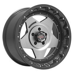 Centerline Wheels 832GM RT-1 - Satin Graphite with Brushed Center