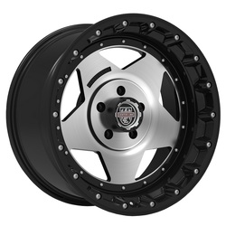 Centerline Wheels 832MB RT-1 - Gloss Black with Machined Center