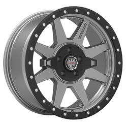 Centerline Wheels 833GB RT-2 - Satin Black with Satin Graphite
