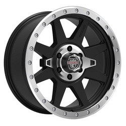 Centerline Wheels 833MB RT-2 - Satin Black with Machined Center and Ring