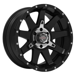 Centerline Wheels 835MB ST-2 - Satin Black with Machined Center