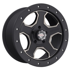 Centerline Wheels 836BZ CRT-3 - Satin Black with Bronze Tint