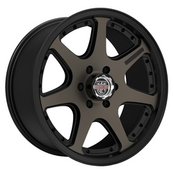 Centerline Wheels 837BZ CRT-4 - Satin Black with Bronze Tint