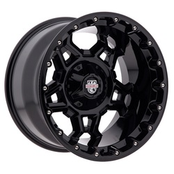 Centerline Wheels 839B LT4 Zodiac - Gloss Black