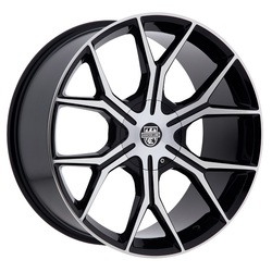 Centerline Wheels 840MB ST3 - Gloss Black with Machined Accents