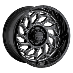 Centerline Wheels Centerline Wheels 846BM LT6 - Gloss Black w/Machined Face