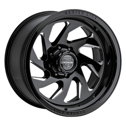 Centerline Wheels Centerline Wheels 847BM LT7 - Gloss Black w/Machined Face