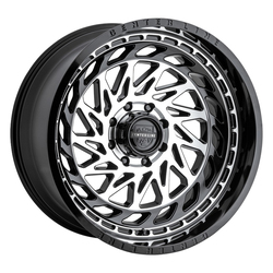 Centerline Wheels 848MB LT8 - Gloss Black w/Machined Face Rim