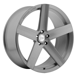 Centerline Wheels F40HB LP01 - Brushed with Dark Tint Clear Coat