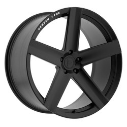 Centerline Wheels F40SB LP01 - Black