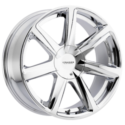 Cruiser Alloy Wheels 922C Kinetic - Chrome Rim - 22x9.5