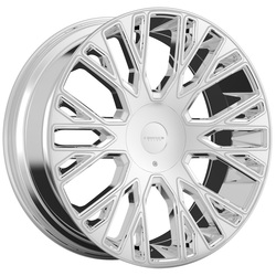 Cruiser Alloy Wheels 923V Raucous - PVD Rim - 24x9.5