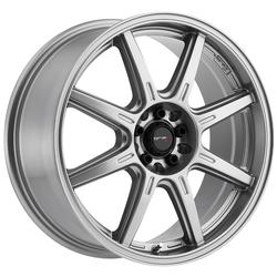 Drifz Wheels 308GG Spec-R - Gloss Graphite - 16x8