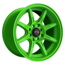 Drifz Wheels Drifz Wheels 308LG Spec-R - Gloss Lime Green - 15x8