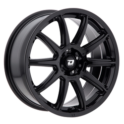 Drifz Wheels 311B Flite - Black Rim - 17x8