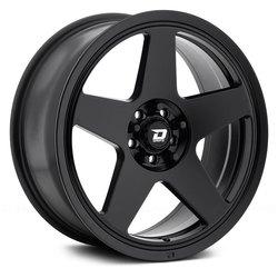 Drifz Wheels 312B Track Star - Black - 17x8
