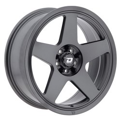 Drifz Wheels 312G Track Star - Graphite Gray - 17x8