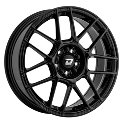 Drifz Wheels 313B - Gloss Black Rim - 17x8