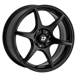 Drifz Wheels 314SB - Satin Black Rim - 17x8