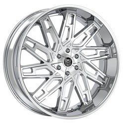 Dropstars Wheels 656C - Chrome Rim - 26x10