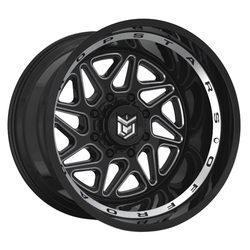 Dropstars Wheels 657BM - Gloss Black Rim
