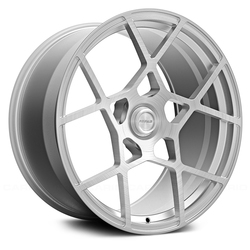 Fittipaldi Wheels FSF01 CB - Brushed with Gloss Clear-Coat Rim