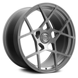 Fittipaldi Wheels FSF01 HB - Brushed with Dark Tint Clear-Coat