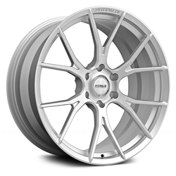 Fittipaldi Wheels FSF06 CB - Brushed with Gloss Clear-Coat