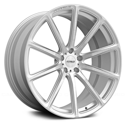 Fittipaldi Wheels FSF07 CB - Brushed with Gloss Clear-Coat