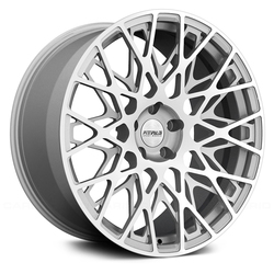 Fittipaldi Wheels FSF08 MS - Machined Face with Gloss Silver Accents