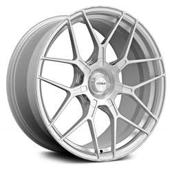 Fittipaldi Wheels FSF09 CB - Brushed with Gloss Clear-Coat
