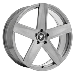 Fittipaldi Wheels FSF10 HB - Brushed with Dark Tint Clear-Coat Rim