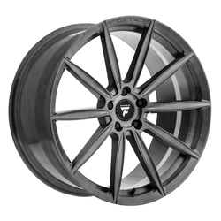 Fittipaldi Wheels FSF11 HB - Brushed w/Dark Tint Clear Coat Rim