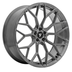 Fittipaldi Wheels FSF12 HB - Brushed w/Dark Tint Clear Coat Rim