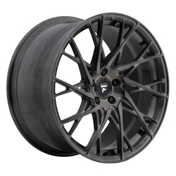 Fittipaldi Wheels FSF24 HB - Brushed w/Dark Tint Clear Coat Rim