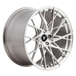 Fittipaldi Wheels FSF24 U - Brushed Without Clear Coat Rim - 21x12