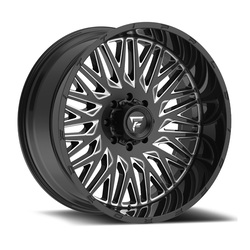 Fittipaldi Wheels FTC07 - Black Milled Rim