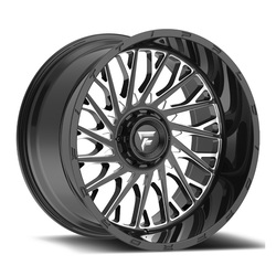 Fittipaldi Wheels FTC08 - Black Milled Rim