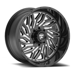 Fittipaldi Wheels FTC13 - Black Milled Rim