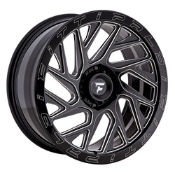Fittipaldi Offroad Wheels FTF01 X - Black Milled Rim