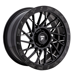 Fittipaldi Offroad Wheels FTF03 X Trail - Black Milled Rim