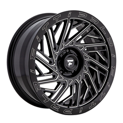 Fittipaldi Offroad Wheels FTF05 X Trail - Black Milled Rim