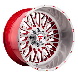 Fittipaldi Offroad Wheels FTF07 Alpha - Brushed Red Rim