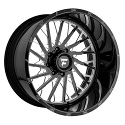 Fittipaldi Offroad Wheels FTF08 Alpha - Black Milled Rim